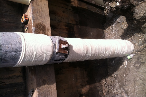 Melwood Rd over Cabin Branch Timber Pile Composite Repair#3JPG