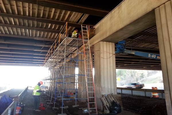 Rte 28 over I-66 Bridge Rehab#1