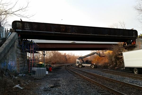 W&W Bridge Raising #2